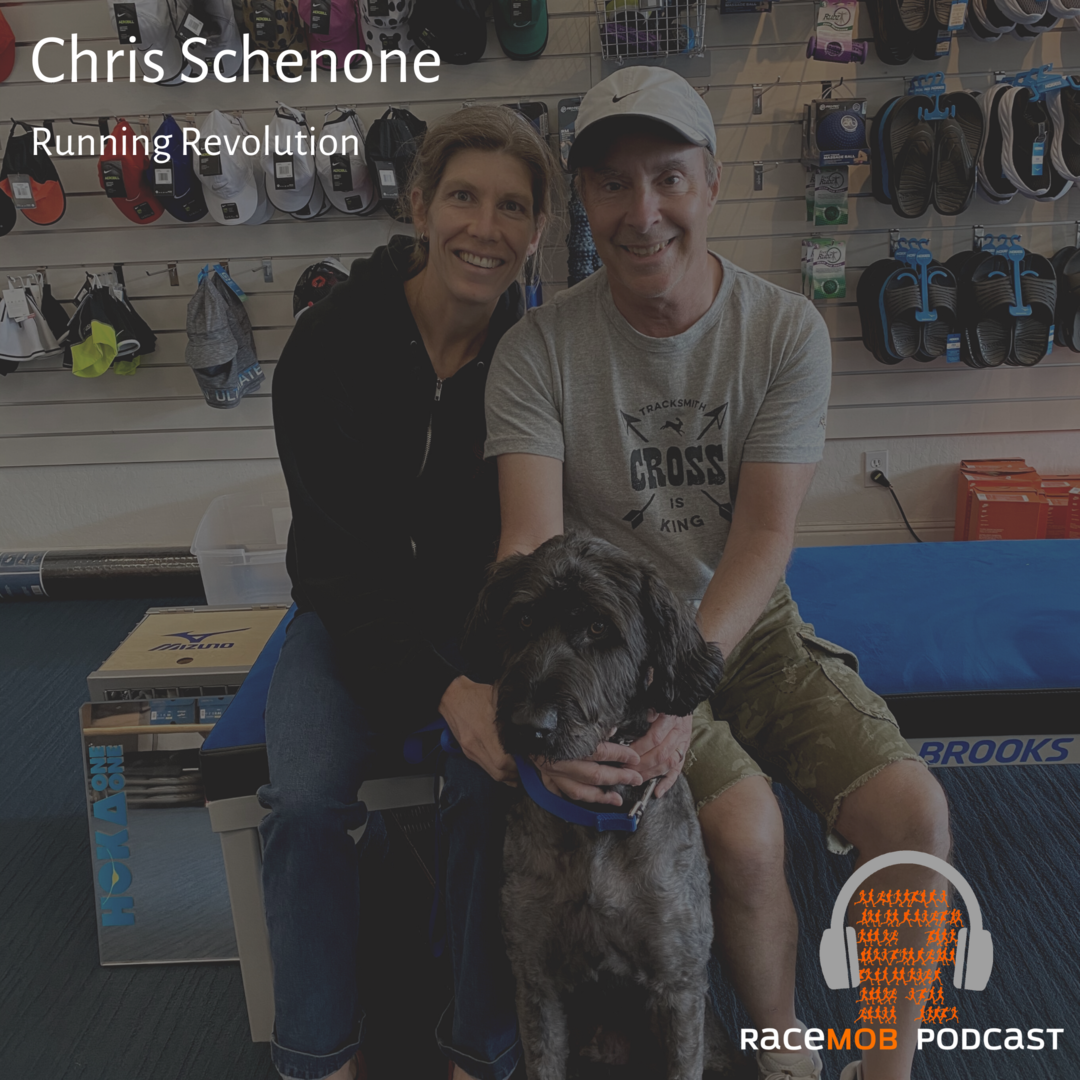 Selecting the Right Running Shoes - with Legendary Store Owner Chris Schenone