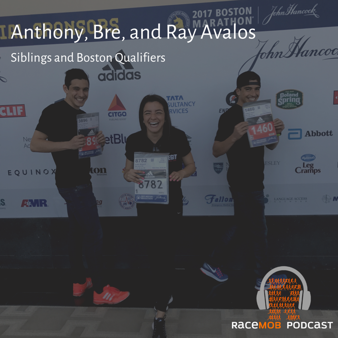 Boston Qualified! 3 Avalos siblings share training tips and stories from the event