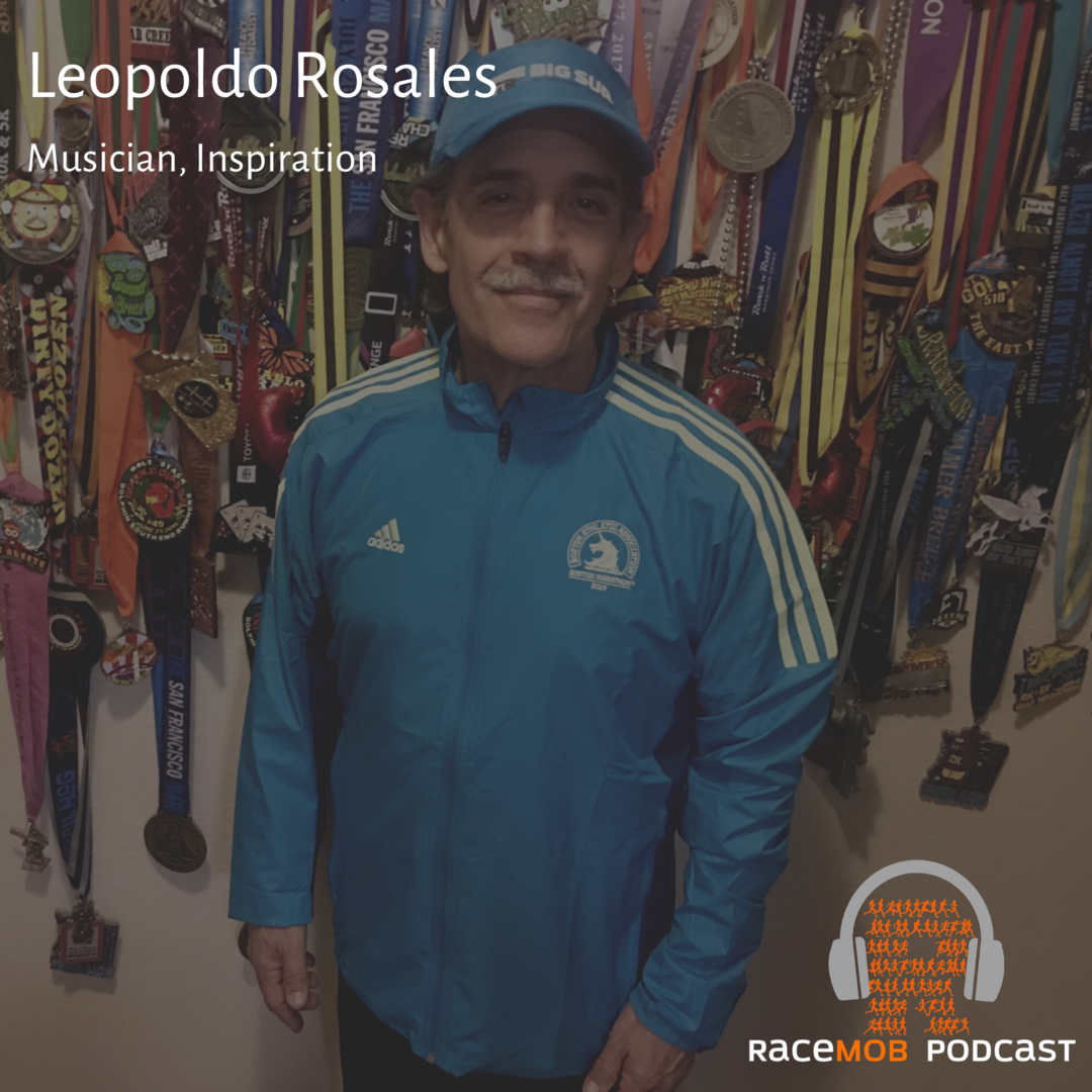 Running to Overcome Addiction - The inspiring story of a Latin Rock Star with Leo Rosales