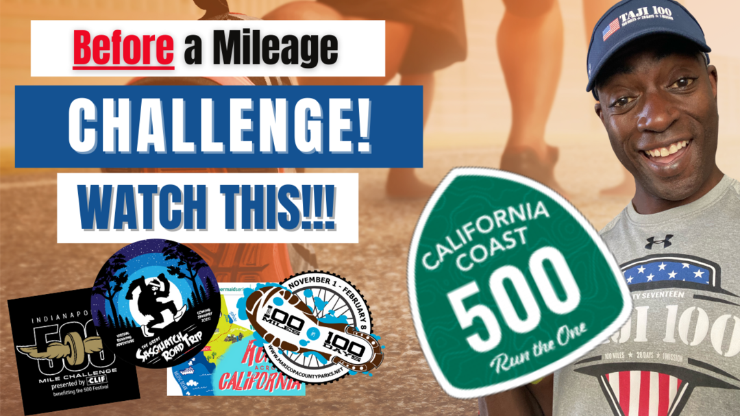 Before You Run in a Mileage Challenge