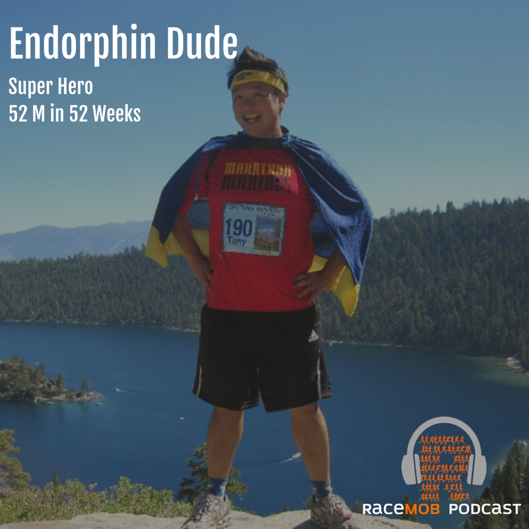The Epic Adventures of Endorphin Dude! Pt. 1: Origin Story - From overweight diabetic to 52 marathons in 52 weeks!