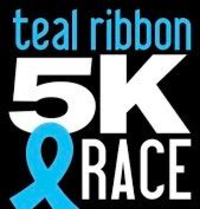 Teal Ribbon 5k Run Walk For Ovarian Cancer Awareness Race Information Deals Maps And Photos