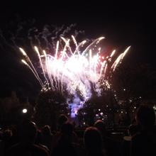 Pre-Race Fireworks